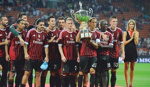 Milan, juve, trofeo berlusconi, sfiga
