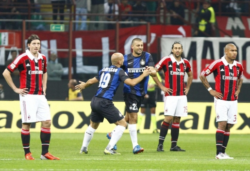Milan, derby, sconfitta