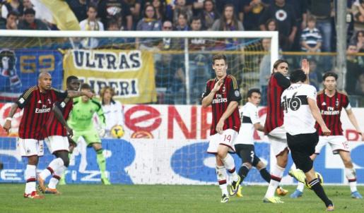Milan, Parma, sconfitta, allegri, matri, balotelli