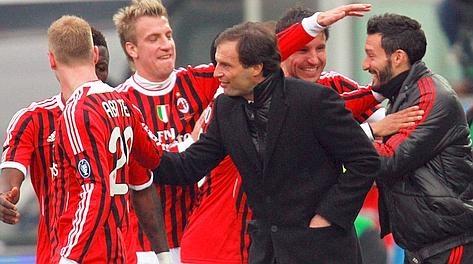 Milan, Cesena, vittoria, Inzaghi, allegri