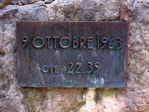 Vajont, anniversario disatro, 9 ottobre 1963